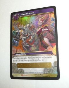 SlashDance World of Warcraft UNSCRATCHED Loot Card Slash Dance WoW Blizzard Game #WorldofWarcraft