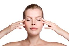 Stap voor stap gezichtsmassage
