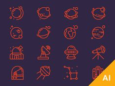 Hey, Space troopers!   Use these free space icons to create beautiful stuff! You will also get bonus pattern. Stay awesome!   DOWNLOAD FREE SPACE ICONS   If you're interested in more icon freebies ...