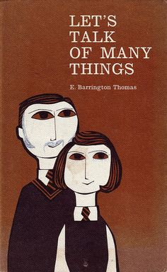 Lets Talk of Many Things- Book Jacket Illustration