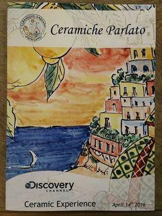 Ceramic Experience by Ceramiche Parlato Positano with Discovery Latin America! ... http://www.ceramicpositano.com/