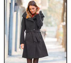 Kabát | vyprodej-slevy.cz #vyprodejslevy #vyprodejslecycz #vyprodejslevy_cz #moda #damskamoda #xxlmoda #xxl Coat, Jackets, Fashion, Down Jackets, Moda, Sewing Coat, Jacket, Fasion, Coats