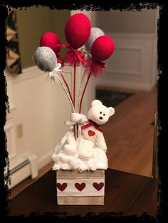 Excited to share this item from my shop: Valentine gifts Valentine's Day gifts teddy's and balloons gifts for her gifts for him balloon arrangements for someone special Bday Gifts For Him, Surprise Gifts For Him, Thoughtful Gifts For Him, Romantic Gifts For Him, Unique Birthday Gifts, Birthday Presents, Valentine Day Gifts, Holiday Gifts, Valentines