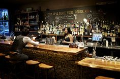 Kask - 1215 S.W. Alder St, Portland - cheerful and intimate downtown bar.