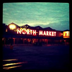 The North Market, Columbus, Ohio. Stumbled upon this place while looking for Jennie's Splendid Ice Cream.  What an absolutely cool little place.