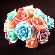 プラチョコ薔薇の作り方 Rose to make with chocolate 1 Cake Decorating, Sweets, Rose, Flowers, How To Make, Chocolates, Youtube, Pink, Gummi Candy