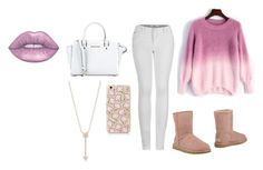 """""""11"""" by fabj213 on Polyvore featuring 2LUV, UGG, MICHAEL Michael Kors and EF Collection"""