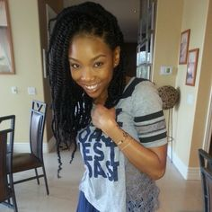 My next protective style Havanna Twists #Marley Braid Hair omg like this is actually so nice