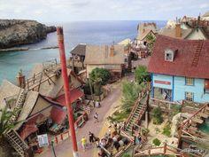 Popeye Village, Melieha, Malta