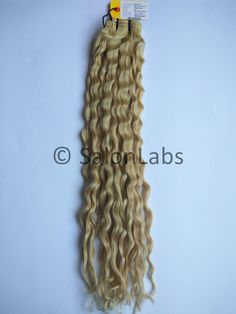 20 inch Remy Pure processed Machine Weft Deep Wave  #613 Indian Human Hair Extensions  These deep wave will allow you to achieve your dream wavy hairstyle or brush out for a light weight natural afro inspired hairstyle. Produced with 100% Raw Virgin Indian Human Hair. Absolutely tangle free.  Due to our exclusive triple weft construction, we guarantee that you will have little to no shedding or strand loss regardless of texture and wave/curl pattern.  To buy highest quality 100% virgin…