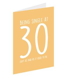 12 Brutally Honest 30th Birthday Cards
