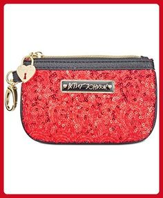 Betsey Johnson Boxed Sequin Zip Coin Purse - Clutches (*Amazon Partner-Link)