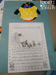 Tacky the Penguin - fiction and nonfiction activities for reading, writing, and crafts!