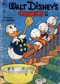 A cover gallery for the comic book Walt Disney's Comics and Stories Walt Disney, Disney Pins, Disney Art, Vintage Disney Posters, Vintage Cartoon, All Disney Characters, Disney Classics Collection, Disney Traditions, Duck Tales