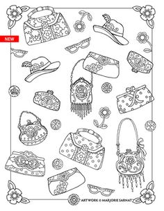 Find This Pin And More On Coloring Fashion