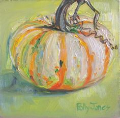 mixed media painting by polly jones