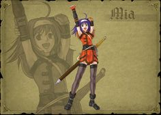 Fire Emblem Path of Radiance - Mia the Myrmidon