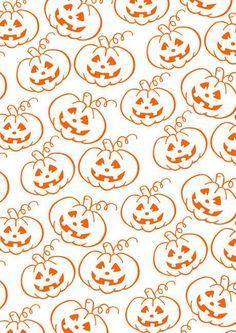 Freebie | Halloween Scrapbook Paper Pumpkin Patch – Scrap Booking