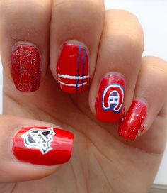 Gisele gendron on ongles rouge and nail nail habs nails prinsesfo Image collections