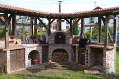 "Outdoor Kitchen   ""haben will"""