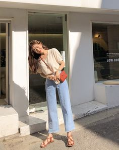 2020 all rights of the pictures goes to their… # Sonstiges # amreading # books # wattpad Korean Girl Fashion, Korean Fashion Trends, Korean Street Fashion, Korea Fashion, Asian Fashion, Look Fashion, Ulzzang Fashion Summer, Korean Casual Outfits, Simple Outfits