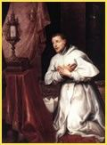 Saint Norbert / San Norberto // 1637 // Marten Pepijn // Cathedral of Our Lady (Antwerp) // Catholic Saints, Patron Saints, Sacramento, Today's Saint, Catholic Online, Immaculate Conception, Eucharist, Prayer Cards, Founding Fathers