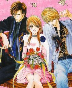 Skip beat! Ren, Kyoko, and Shotaro