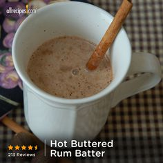 6 ingredients | ready in 40 minutes | Hot Buttered Rum | Repin now! http://allrecipes.com/recipe/Hot-Buttered-Rum-Batter/Detail.aspx?lnkid=7171