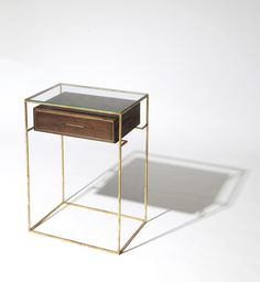 Floating Drawer Side Table. (can someone tell me why i like this? haha...I just do, dont know why)