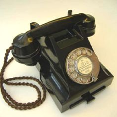 1940s phone...love this style