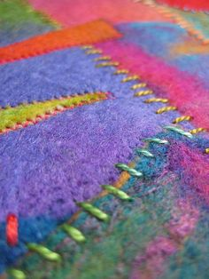 Felt and Stitch by studiofelter, via Flickr
