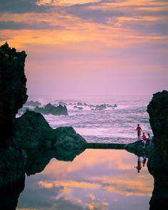 Rock Pools near Porto Moniz at Madeira Island, Portugal Positano, Beautiful Islands, Beautiful World, Costa, Visit Portugal, Hdr Photography, Rock Pools, Douro, Beautiful Places To Visit