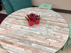 Lesson Plans and Classroom Activities for Teachers DIY Classroom Table Upgr. Lesson Plans and Classroom Activities for Teachers DIY Classroom Table Upgrade: Farmhouse Classroom on a Budget Alw. Classroom Table, Classroom Setting, Classroom Design, School Classroom, Classroom Themes, Classroom Activities, Classroom Organization, Diy Farmhouse Table, Modern Farmhouse