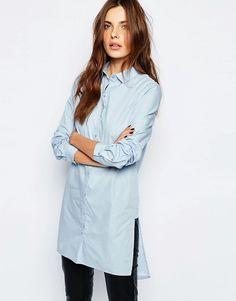 Vila+Longline+Shirt