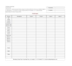 Garment Trim Sheet A Helpful Industry Form That Keeps Track Of