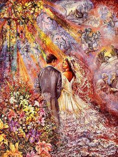"""The Wedding 2"" par Josephine Wall"