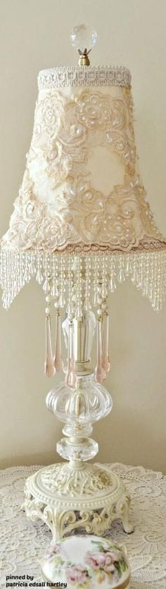 Dollhouse Miniature White Wire Tall Lamp Stand by Alice Lacey