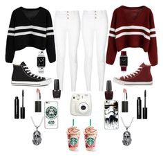 """""""❤Together Forever❤"""" by ahriraine ❤ liked on Polyvore featuring moda, Converse, OPI, Casetify, Sigma Beauty, Bobbi Brown Cosmetics, women's clothing, women, female e woman"""