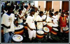 Bahia's Olodum Drums - Pelourinho, Salvador