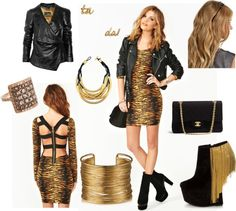 """""""tigress"""" by carolwatergirl on Polyvore"""