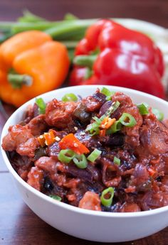 Chicken cubes marinated, fried and sauteed in spicy and tangy sauce. Best served with Vegetable/Chicken Fried rice.