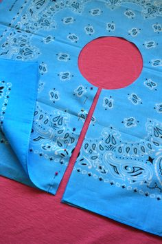 DIY -  Pirate Day Craft:  how to make sword and bandanna pirate skirt