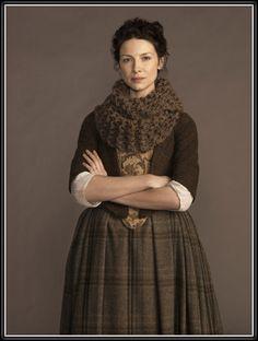J'aimerais bien me tricoter quelque chose du genre. Caitriona Balfe as Claire Randall