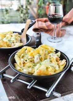 Macarrones con salsa de queso | L'Exquisit