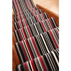 Striped Stairs Carpet Stripey Stair Carpets Patterned