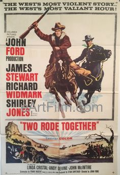Happy #NationalILoveHorsesDay, I guess https://eartfilm.com/search?q=horse #Horse #Horses #Equus #movies #poster #posters #film #cinema #movieposters #movie #movies #poster #posters #film #cinema #movieposter #movieposters    Two Rode Together-James Stewart-Richard Widmark-Shirley Jones-John Ford-1961
