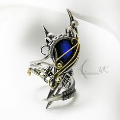 ** AZSULTURH - silver , gold , sapphire. by LUNARIEEN on DeviantArt ** -- This is beyond Awesome!! -- (Lunarieen's Direct Gallery Page = http://lunarieen.deviantart.com/gallery/ )