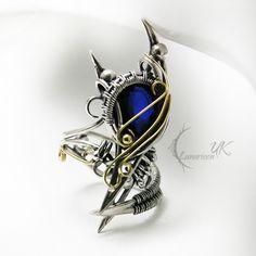 ** AZSULTURH - silver , gold , sapphire. by LUNARIEEN on DeviantArt ** -- This is beyond Awesome!! -- (Lunarieen's Direct Gallery Page = http://lunarieen.deviantart.com/gallery/ )