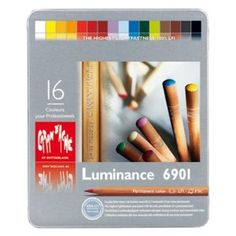 caran d'ache Luminance colored pencils, simply the best coverage and light fast