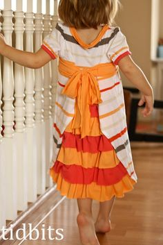 T Shirt dress tutorial at bottom of page